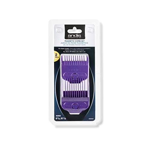 Andis Magnetic Comb Set - Dual Pack 0.5 & 1.5, 1 count