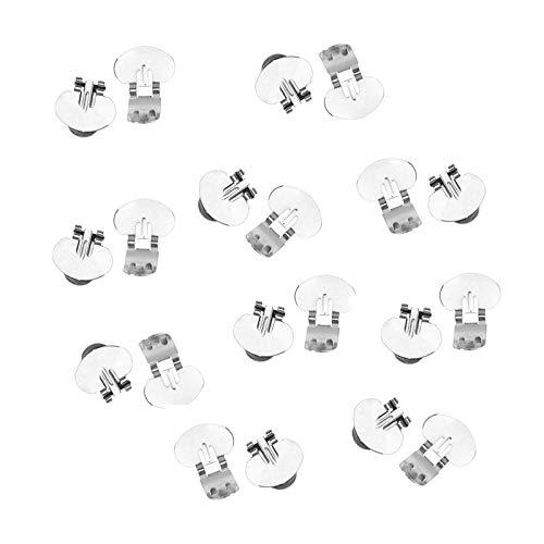 OTOTEC Broche de boda en blanco para zapatos con hebillas, accesorio de novia, decoración de diamantes