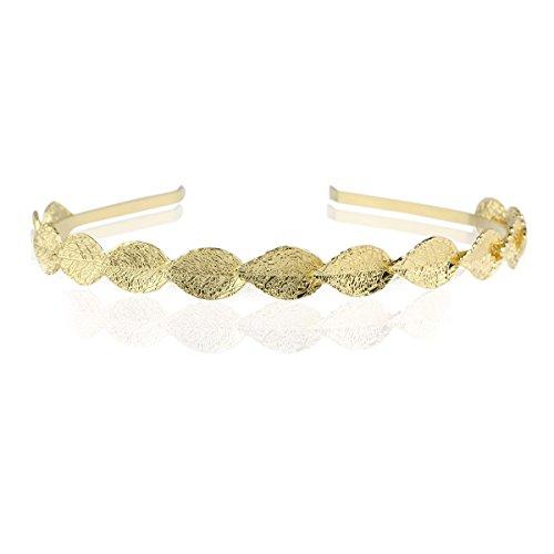 Haarband Goldene Blätter Stirnband Haarreif Braut Haarschmuck