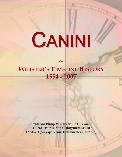 Canini: Webster's Timeline History, 1554 - 2007