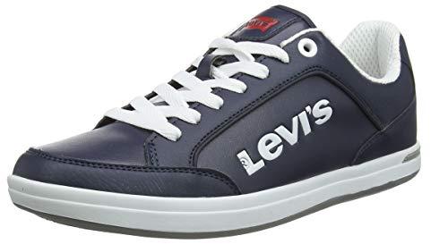 LEVIS FOOTWEAR AND ACCESSORIES Aart Novelty, Zapatillas para Hombre, Azul (Navy Blue 217), 41 EU