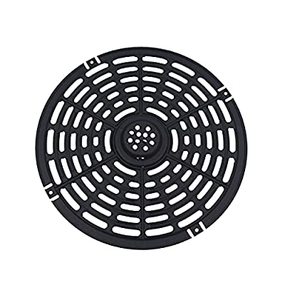 Air Fryer Replacement Grill Pan 8.54 Inch Air Fryers, Air Fryer Replacement Parts, Air Fryer Accessories in Kitchen, Non-Stick Air Fryer Pan, Dishwasher Safe (8.54 In)