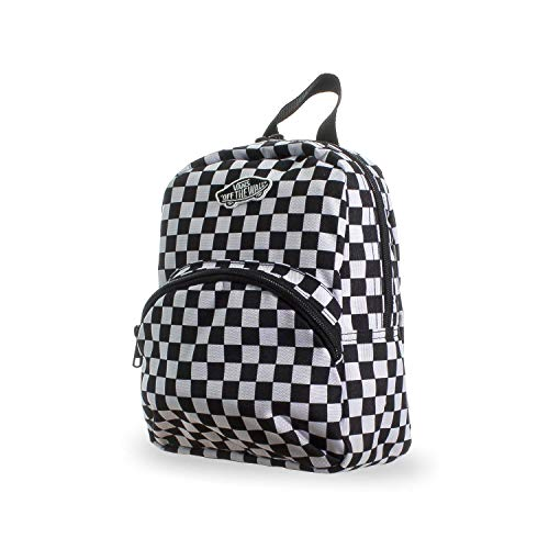 Vans GOT THIS MINI MOCHILA NEGRO-BLANCO CHECKERKERBOARD, talla única