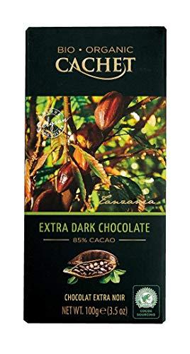 Cachet(カシェ) オーガニックエクストラダークチョコレート85% 100g