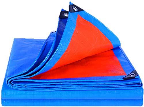Lona impermeable Rabbfay, resistente al polvo, resistente al polvo, lona de poliéster con ojales resistente al desgarro y resistente al desgaste, cubierta de lonas de 2 x 2 m, 3 x 5 m