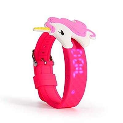 PottyWrist Watches for Toddler Girls   Water Resistant, Toddler Watch Girl   with Potty seat Magic Stickers from PETS AND MORE