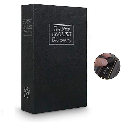 Cassaforte a forma di libro con password lock dizionario guida libro sicuro,...