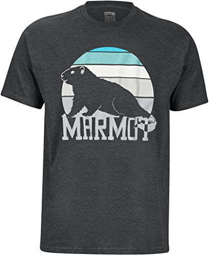 Marmot Dawning T-Shirt, Charcoal Heather, S Homme