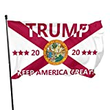 759 Donald Trump Flag 3x5 Foot - 2020 Trump President Flags Florida Flag Keep America Great Flag 3x5 Ft with Grommets