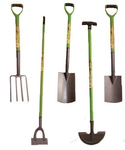 Digging Garden Spade Shovel Fork Dutch Hoe Rake Landscaping Tools Patio...