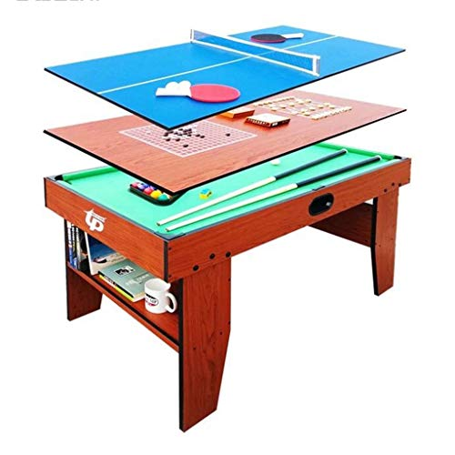 Great Price! YGO Multi Function Game Table 54 Combo Table 5 in 1 Entertainment Table for Pool Table,...