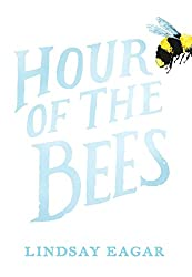 The Hour of the Bees is about Caroline, called Carol, and her family. They have traveled to her grandfather's New Mexico sheep ranch to clean it out and sell it. This is to prepare for moving him to a nursing home as he has dementia. Twelve year old Carol is the babysitter for her small brother, Lu, and helps with a lot of the ranch chores and cleaning the house. Her half sister, Alta, is also with them and provides some comic relief. She is a typical surly, mouthy teenager.