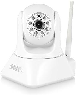EM6325 Videocámara de vigilancia inalámbrica (micrófono y Altavoz incorporados) 6.5 W Blanco