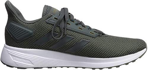 adidas Men's Duramo 9 Running Shoe, Legend Ivy/Legend Ivy/raw Khaki, 11 M US