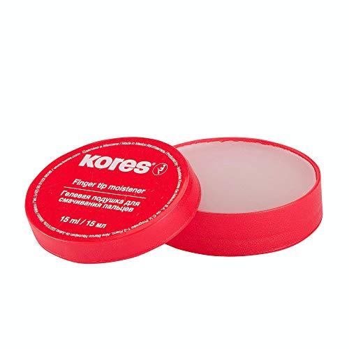 Kores Fingeranfeuchter in praktischem Plastikspender, 15 ml, 1 Stück, 32616