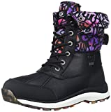 womens adirondack boot ii - UGG Women's Adirondack Boot III Graffiti Snow, Black, 8 M US