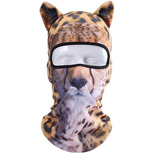 TTBDY Animal Riding Face Mask Ademend Stofmasker Sneldrogende Zonnebrandcrème Naadloze Bandana Outdoor Sport Riding Ski Hoofd Cover Motorfiets Fietsen UV Bescherming