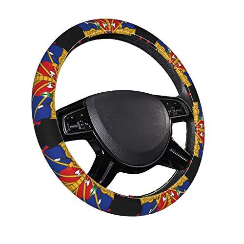 Stemma di Haiti Coprivolanti per auto per auto Protezione universale da 15 pollici - Microfibra