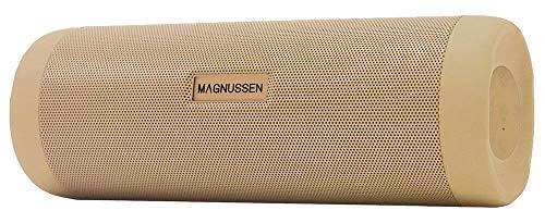 Magnussen Audio S2 Bluetooth-Lautsprecher 4.1, tragbar, goldfarben