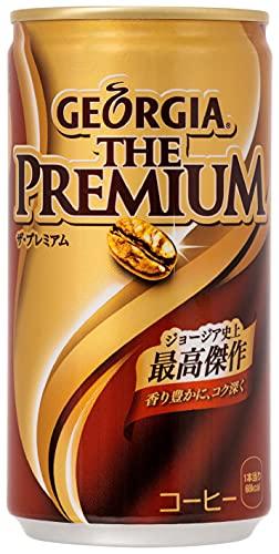 コカ・コーラ ジョージア ザ・プレミアム 缶 コーヒー 185g×30本