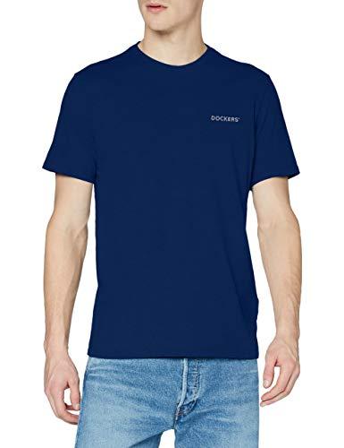 Dockers Logo Tee, Camiseta Hombre, Estate Blue, L