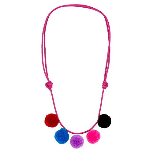 JOE COOL Necklace Pompom Made with Cotton