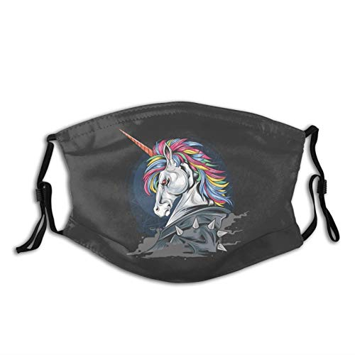 Unicorn Warrior Jacket Washable Reusable Dust Filter and Reusable Face Mouth with Activated Carbon Windproof