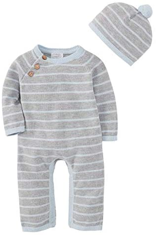 Mud Pie Boys Knitted Baby Layette Gift Set Blue 0 3 Months product image