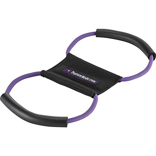 Posture Medic ORIGINAL 3in1 Rücken Geradehalter Haltungstrainer Bandage für Haltungskorrektur Stabilisierung von Schulter und Nacken I belastungsreduzierend für eine gerade Körperhaltung PLUS M (Blau)