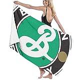 65469longshuo Brooklyn Brewery Logo Bath Towels Luxury Microfiber Beach Towel Quick-Drying Pool Towel Blanket Toalla