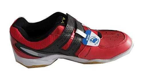 Victor - Chaussures de Sport Badminton Homme Rouge Noir Taille. 41