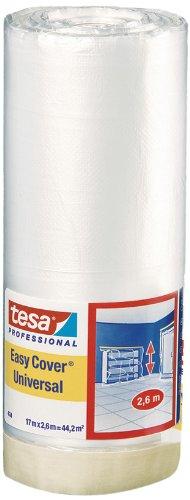 Tesa Easy Cover 4368 Premium Malerkrepp (mit Abdeckfolie 17 m:2600 mm) 04368-00007-03
