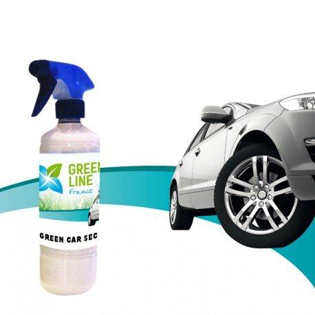 GREEN LINE France - Green Car Sec Pulverisateur 500 ML Nettoyant Carrosseries De Véhicules sans Eau À Effet Déperlent