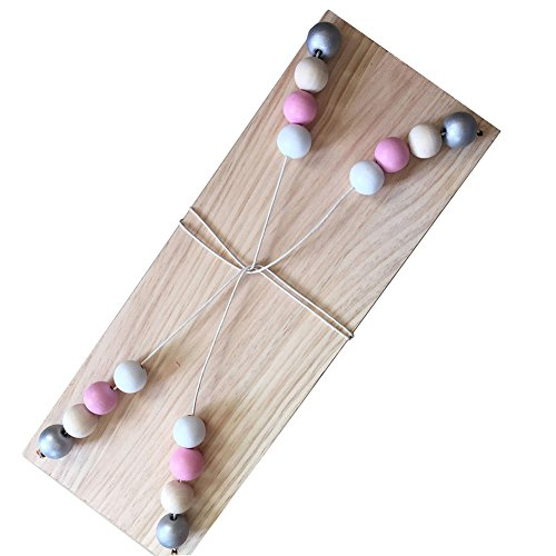 visage Blanc en bois rustique Tableau noir avec tableau noir /étag/ère et 3/C/œurs /à suspendre en m/étal d/écorative H37/X L/ /Une valeur Fantastique Id/ée de cadeau personnalis/é