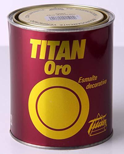 TITAN - Emalte decorativo oro amarillo 750 ml