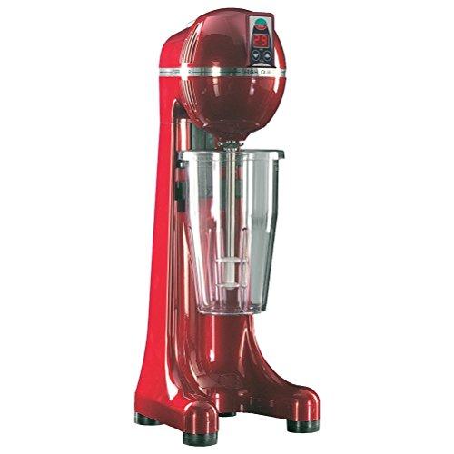 Johny AK/2–2T de RAL de temporizador de R Bebidas Licuadora Frappé de Maker, frapiera, 2velocidades, fabricado en Grecia, color rojo