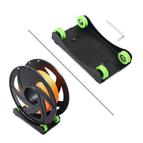 Befenybay Supporto per filamento per stampante 3D universale regolabile con staffa per montaggio a filamento per PLA/ABS/Nylon/Legno/TPU/Altro materiale di stampa 3D