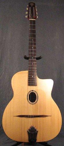 Maurice Dupont Nomade Gypsy Jazz Akustik Gitarre ovales Schalloch