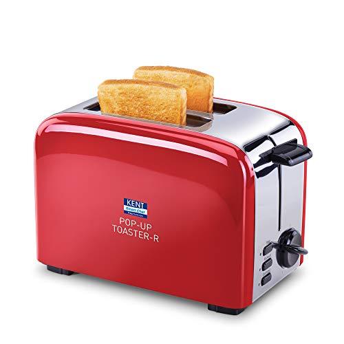 Kent 16030 850-Watt 2-Slice Pop-up Toaster (Red)