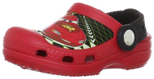 Crocs CC Lightning McQueen Sabot K , Zoccoli e sabot, Unisex - bambino, Rosso (Red), 21-22