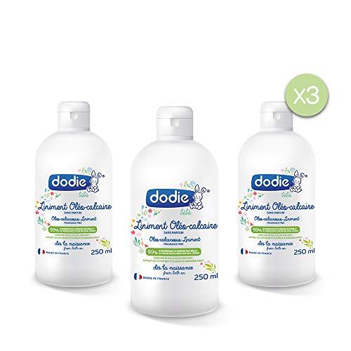 Dodie - Lote De 3 Linimentos Oleocalcáreos 250Ml, 50 unidades