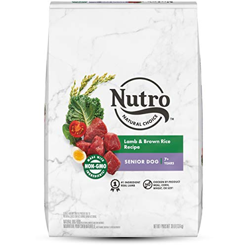 NUTRO NATURAL CHOICE Senior Dry Dog Food,...