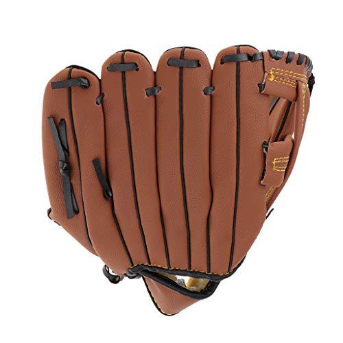 SM SunniMix Baseball Handschuhe Erwachsene Kinder Softball Fanghandschuhe für Training Wettbewerb - L