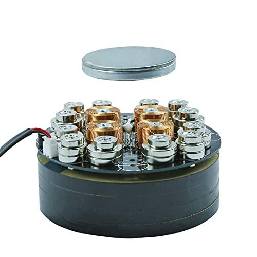 XSHION Load 1000g Magnetic Suspension Module Platform with LED Lights DIY Magnetic Levitation Kit