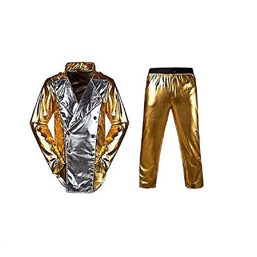 Baorun Michael Jackson World Tour Gold History - Chaqueta con pantalón