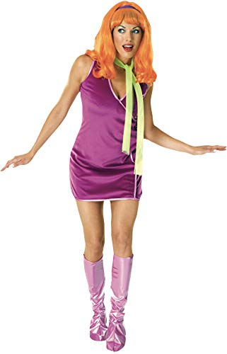 Rubie's womens Daphne Adult Sized Costumes, Purple, One Size US