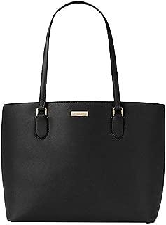 Kate Spade Jaelyn Laurel Way Saffiano Leather PC Laptop Computer Bag Tote Purse Handbag BLACK