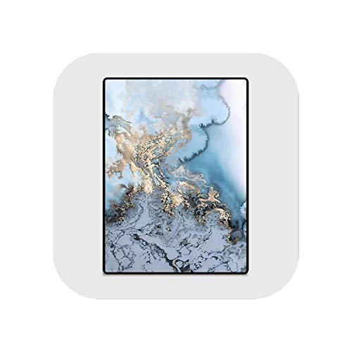 Big Incisors Gelbe Teppiche Wohnzimmer |Moderne abstrakte Kunst Tinte Malerei Muster Teppich Teppiche für Wohnzimmer Sofa Couchtisch Bereich Teppich Arbeitszimmer Bodenmatte-JQ-Teppiche-71-40X60cm