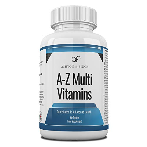 A-Z Multi Vitamins Minerals Bottled in 60s
