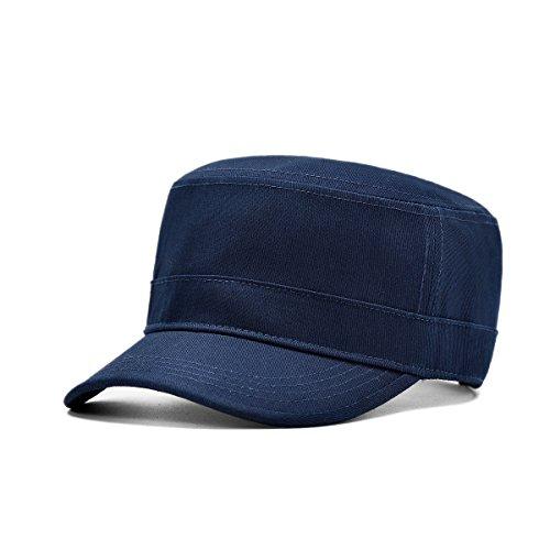 Four Seasons En Plein Air Vêtements Décontractés Cap Flat Top Hat Casquette De Baseball,02-56-60cm